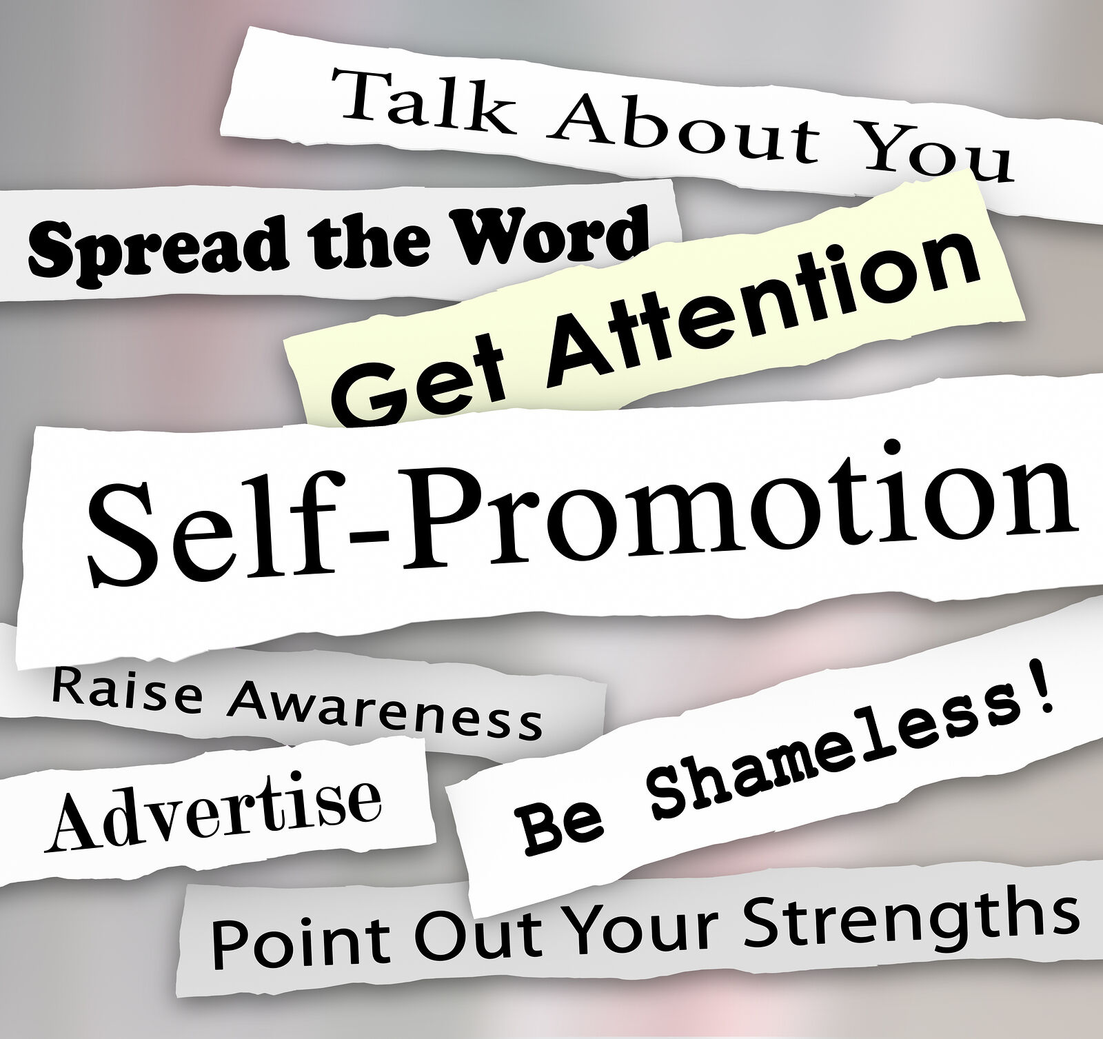 Can't get your press releases printed? Short answer: Self promotion!