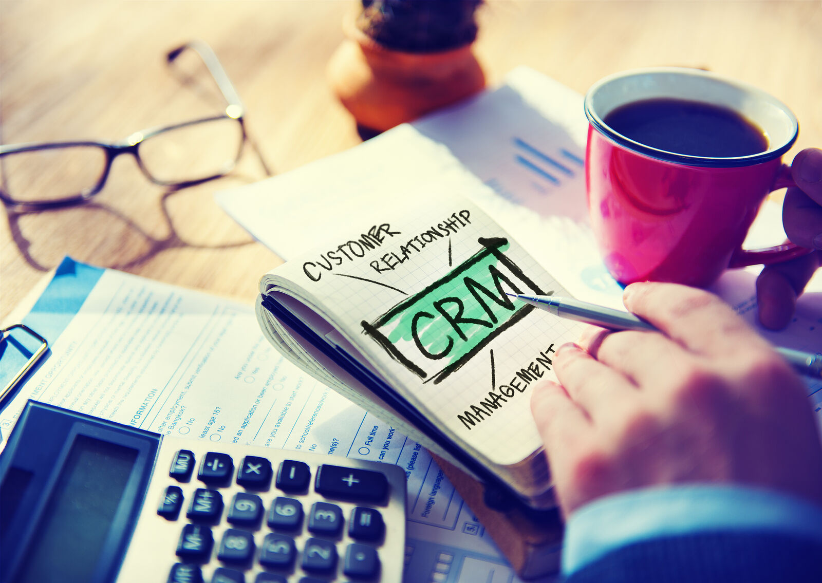 CRM systems...a must have!
