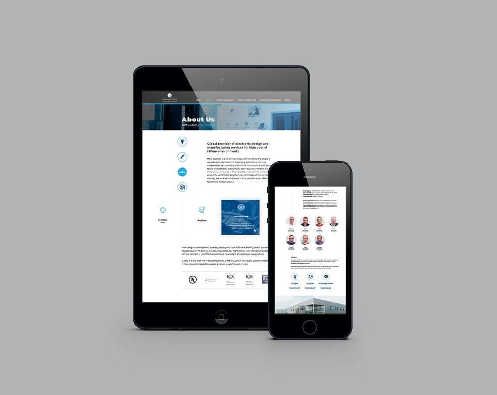 Design concepts for website