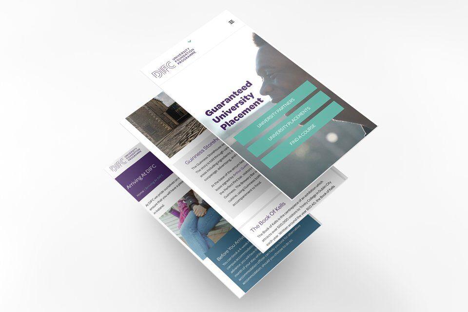 Mobile friendly web design concepts