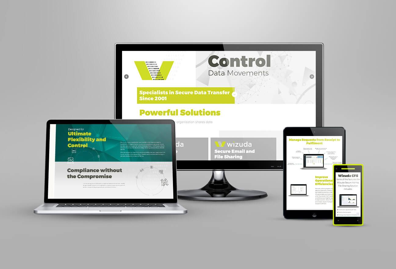 Wizuda brand design