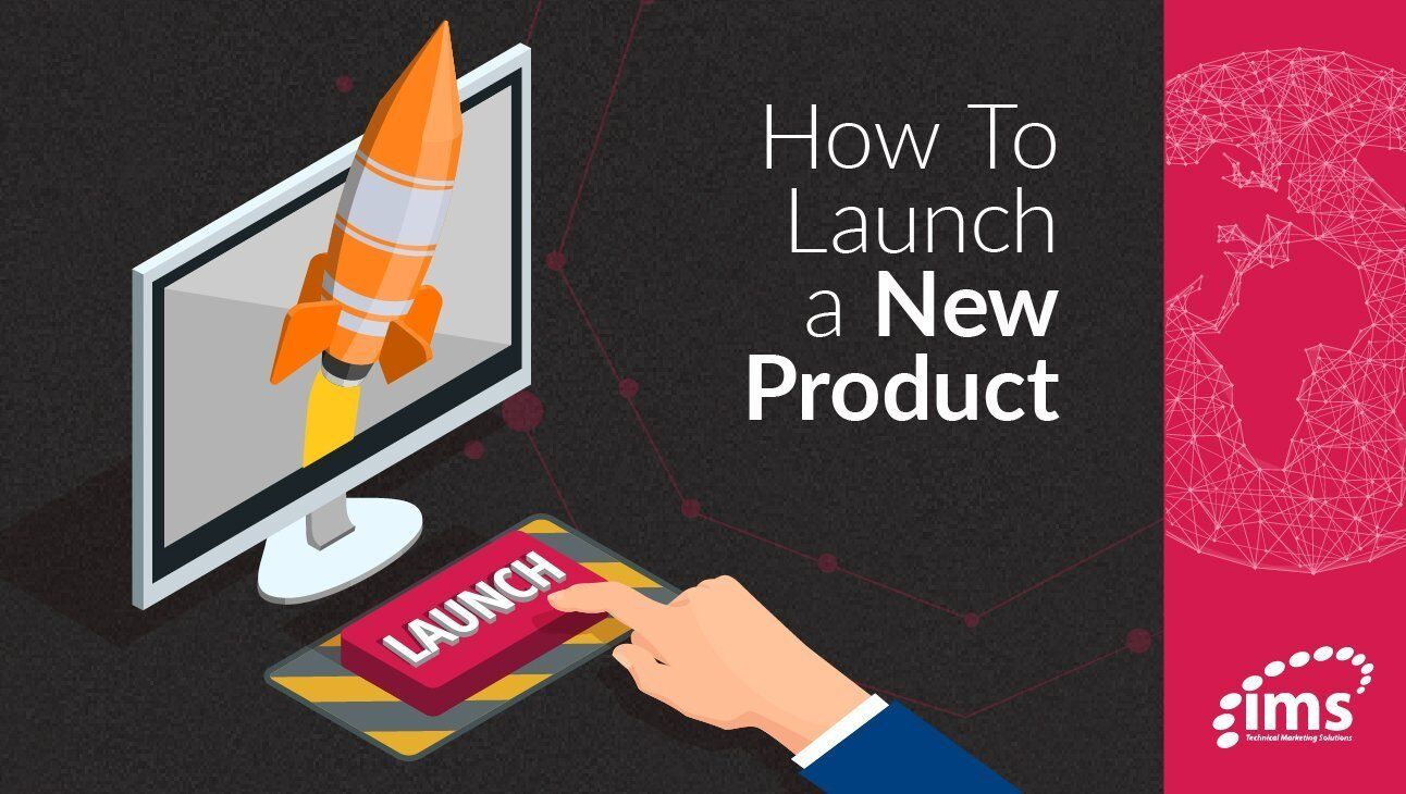 How to launch a new product graphic
