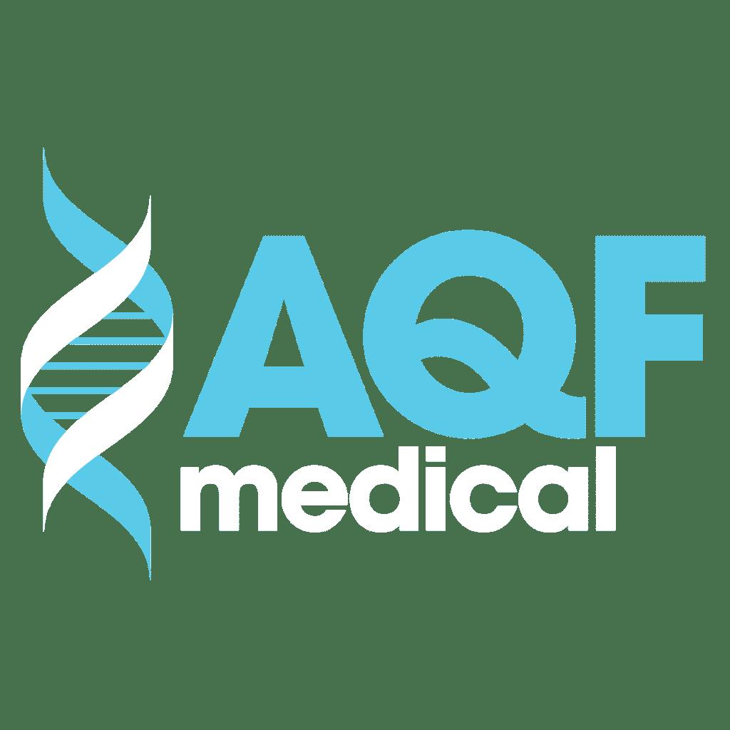New logo design for AQF Medical