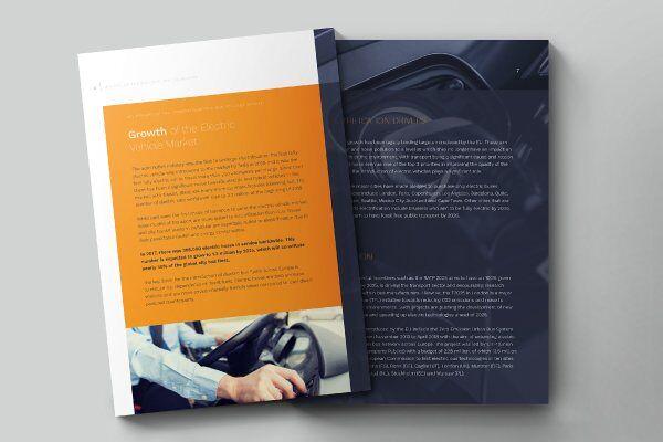 Brochure design mockups for Ventac