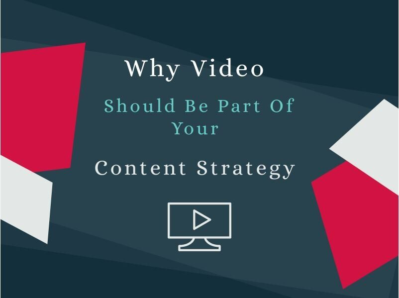 Why video should be a part of your content strategy graphic