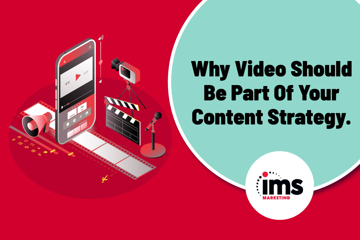 Video blog graphic for web