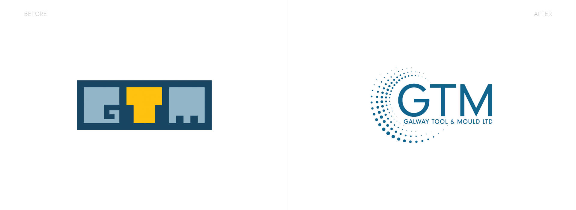 GTM logo evolution