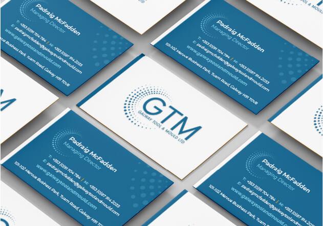 GTM Business card mockups