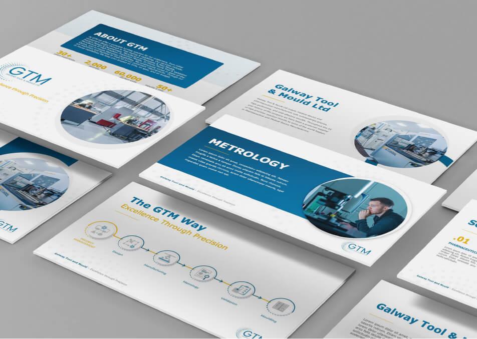 Web design mockups for GTM