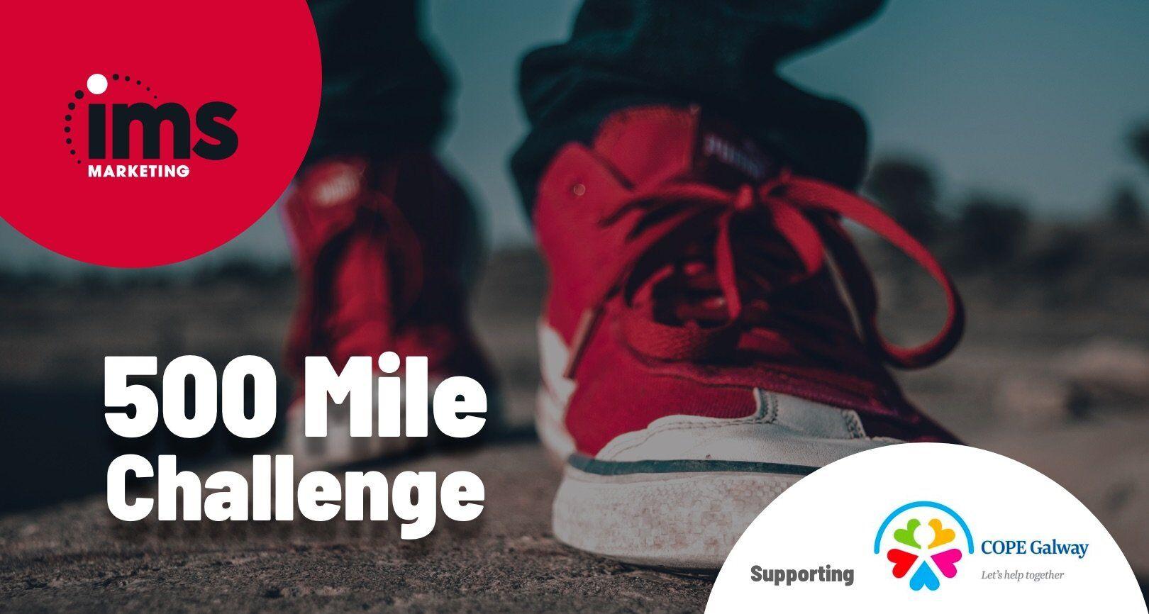 500 Mile Challenge Banner Image