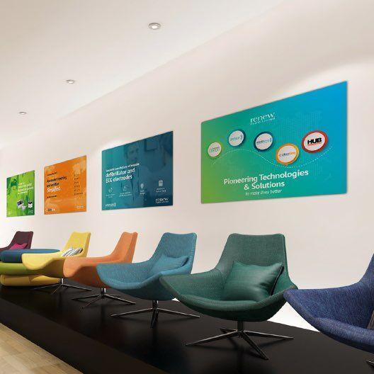 Common area internal branding for Renew