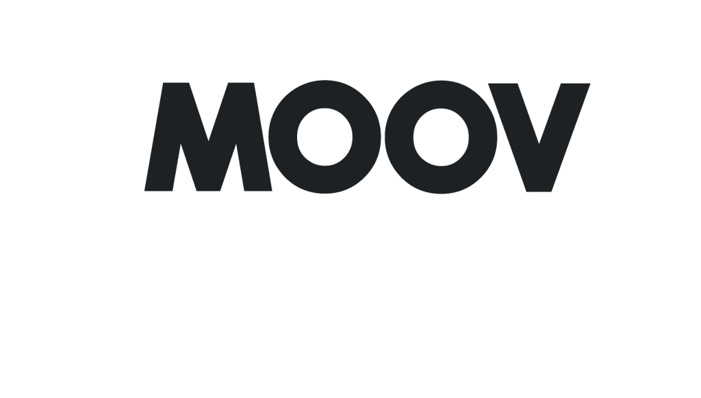 Moovmor black and white logo