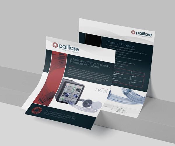 Brochure Mockups for Palliare