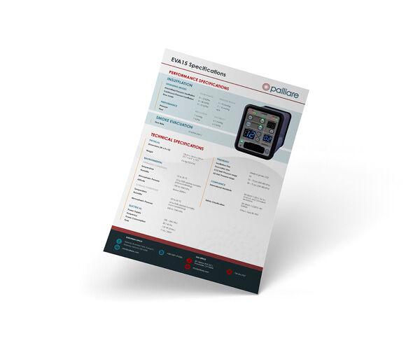 Technical Sheet Mockups for Palliare
