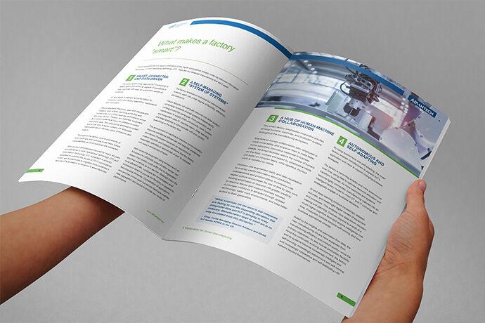 Whitepaper design mockups for Advantech