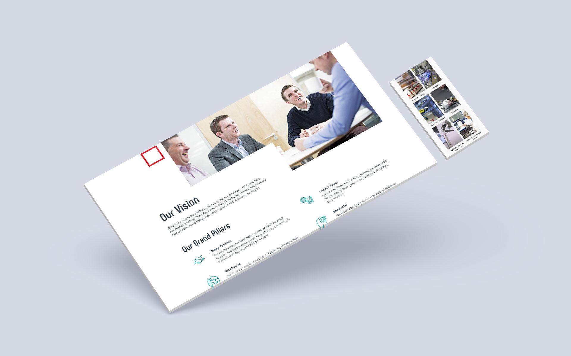 CXV website design mockup for desktop and mobile
