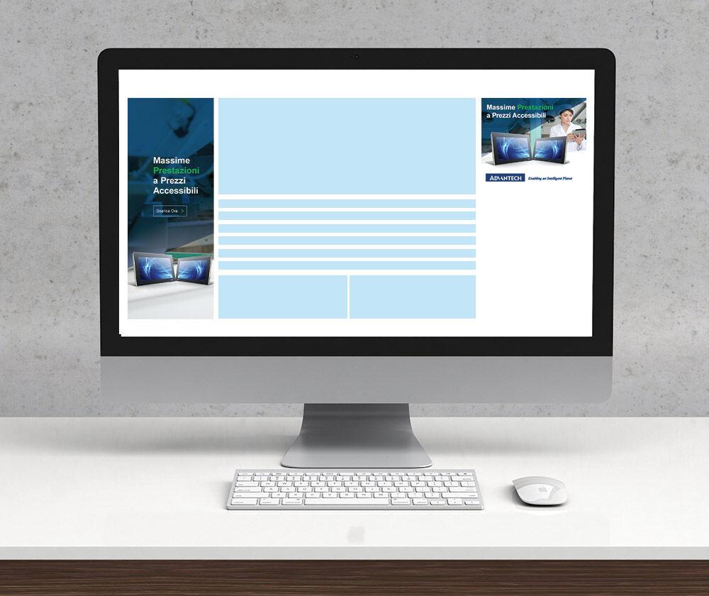Design Mockups of Display ads for Advantech
